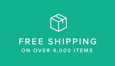 Free Shipping on orders over 4000 items.