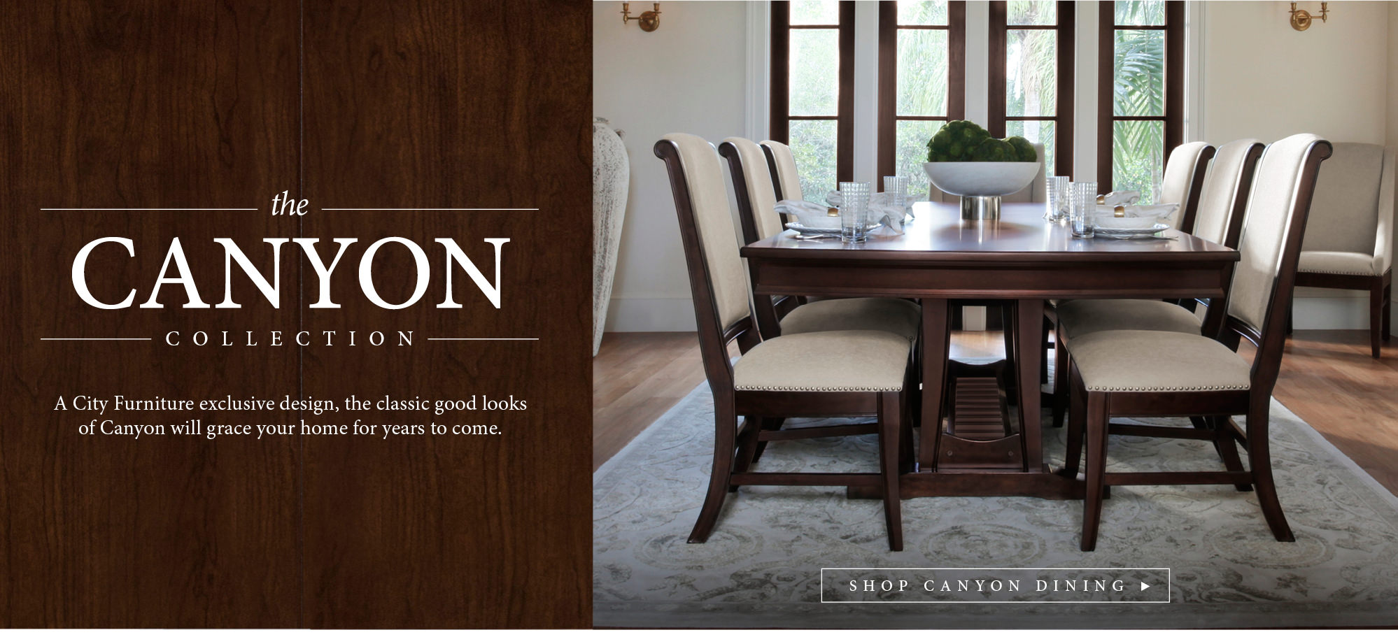 City Furniture | Collections | Canyon Collection