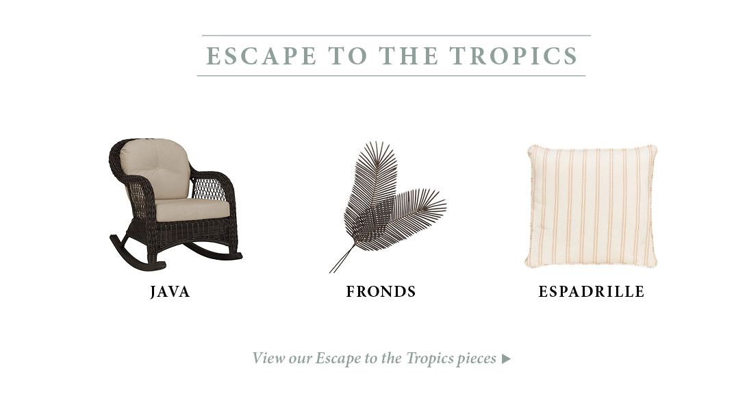 Tropical Patio Furniture