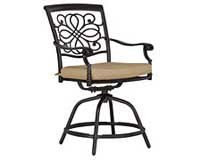 sunbrella bar stool
