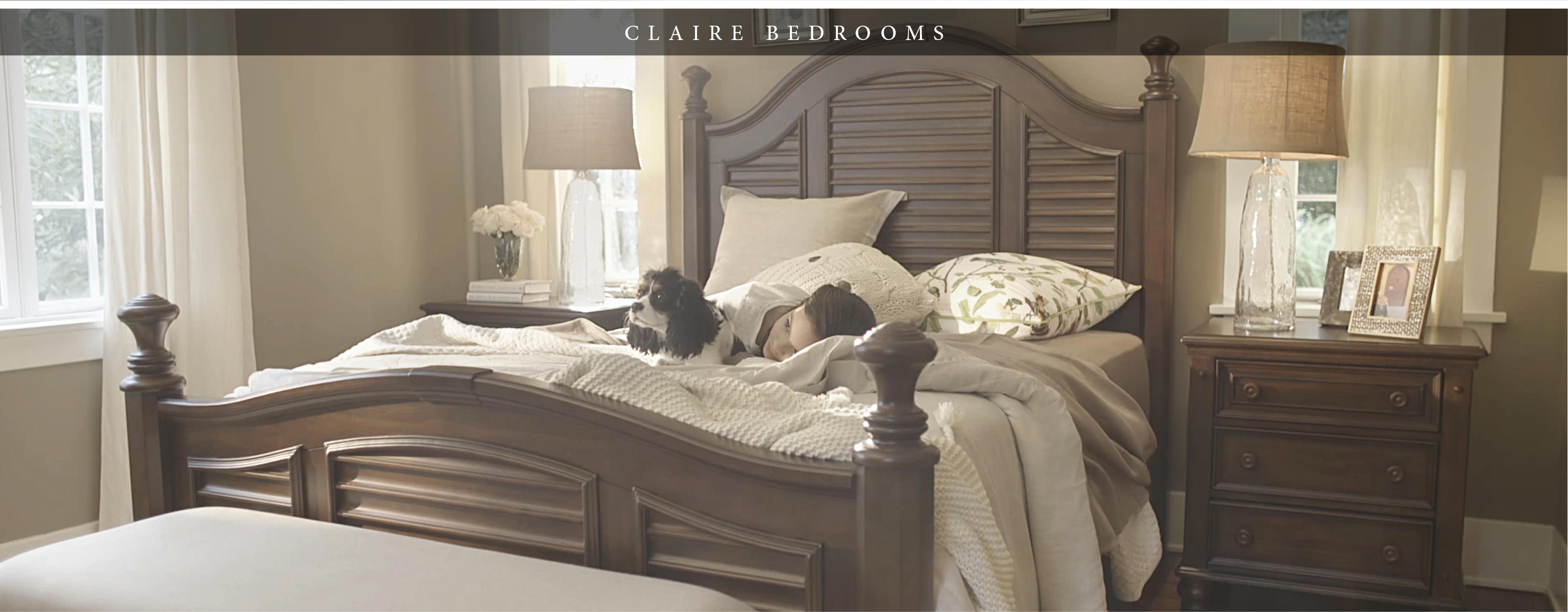 Claire Bedroom Furniture Collection