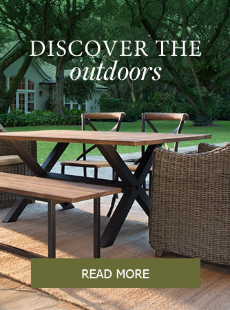Outdoor furniture campaign