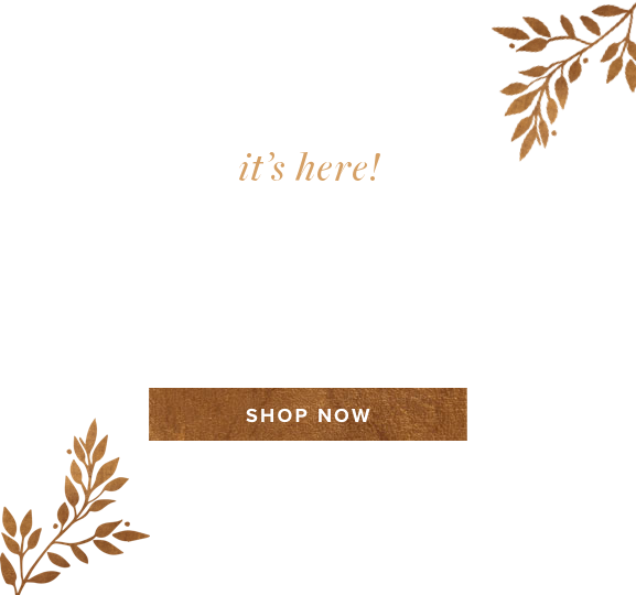 It's Here. Fall Home Sale. Shop Now.