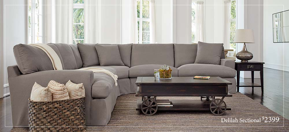 Park and Worth Delilah Sectional