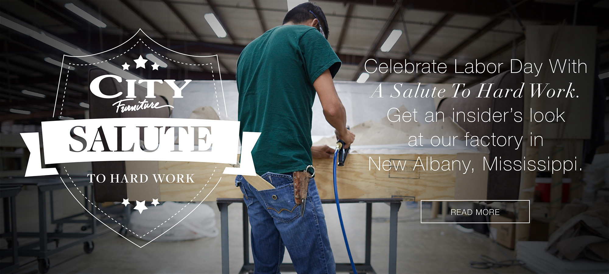 Read more about Our Factory in New Albany, Mississippi