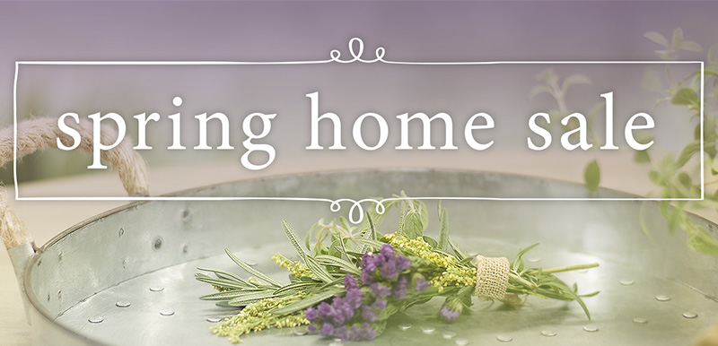 Spring Home Sale
