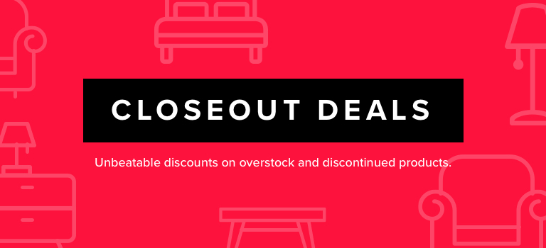 Closeout Deals up to 70% OFF. Unbeatable discounts on overstock and discontinued products. Shop Now.