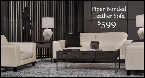 Piper Bonded Leather Sofa